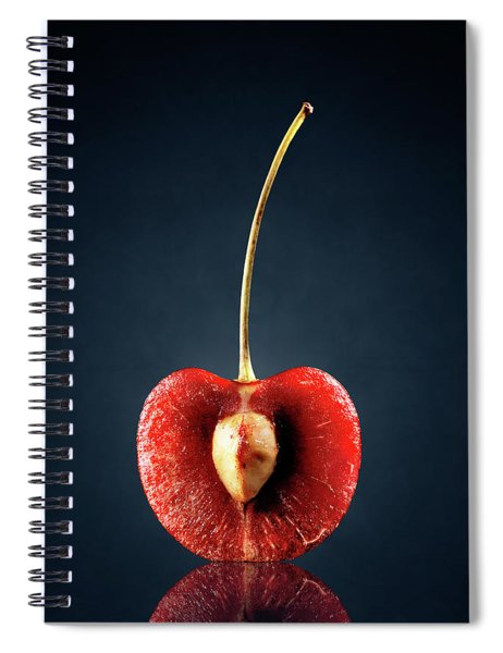 Red Cherry Still Life Spiral Notebook