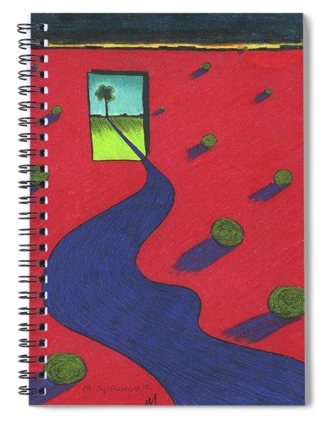 Red Desert Spiral Notebook