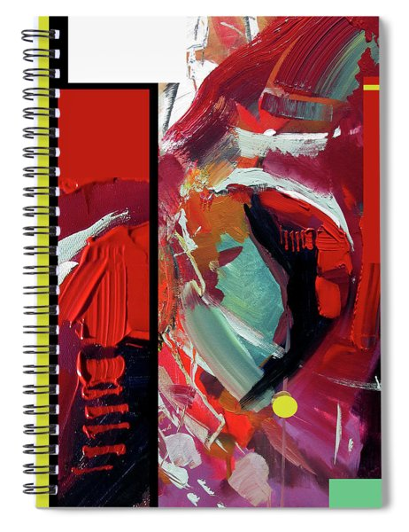 Red Drink Spiral Notebook