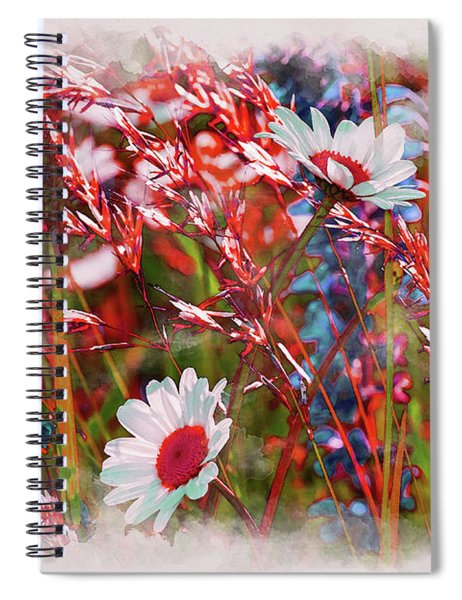 Red Motives Spiral Notebook