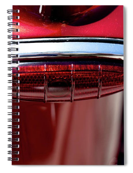 Red On Red Spiral Notebook