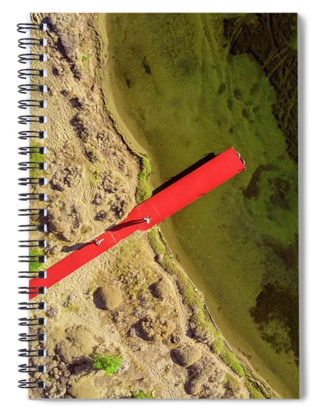 Red Pier Spiral Notebook