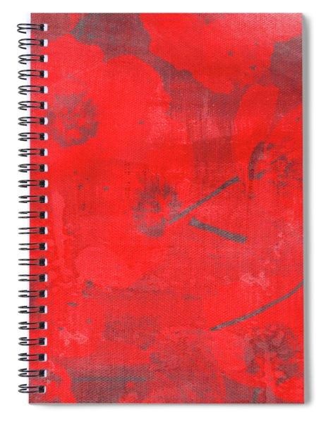 Red Poppies Spiral Notebook