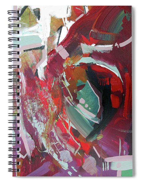 Red Tweak Spiral Notebook