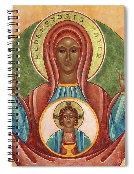 Redemptoris Mater Spiral Notebook