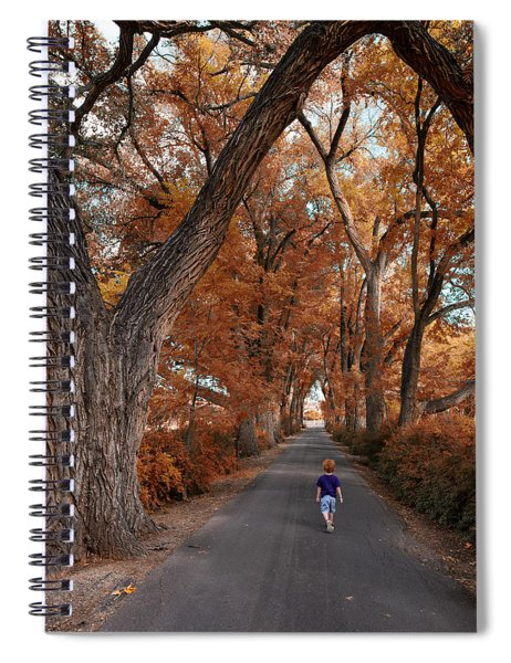 Redhead Fall Walkabout Spiral Notebook