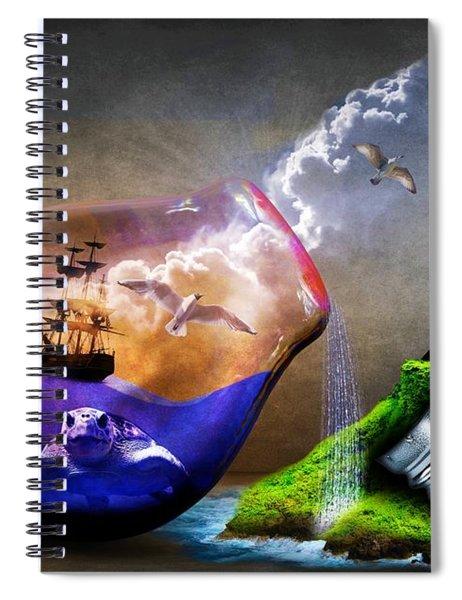 Reducing Power Spiral Notebook