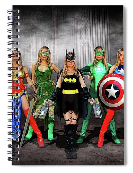 Reflections Of A Hero Spiral Notebook