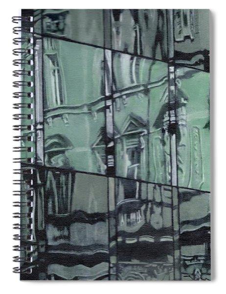 Reflection On Modern Architecture Spiral Notebook