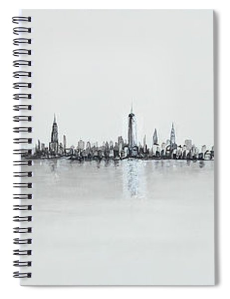 Reflections Of Freedom Spiral Notebook