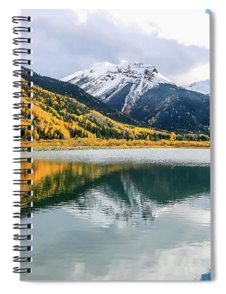 Reflections On Crystal Lake 1 Spiral Notebook