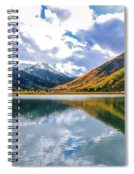 Reflections On Crystal Lake 2 Spiral Notebook