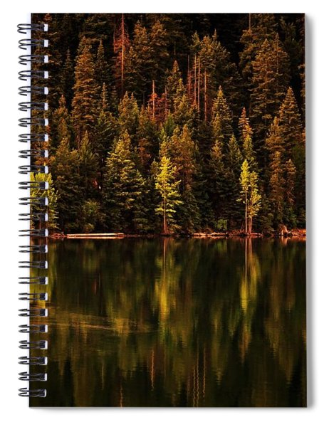 Reflections On Rimrock Lake Spiral Notebook