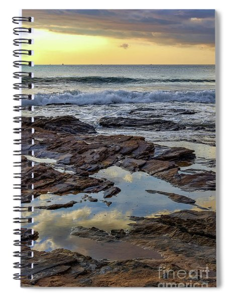 Reflections On The Rocks Spiral Notebook