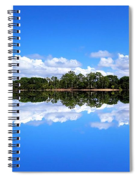 Reflective Lake Patricia Spiral Notebook