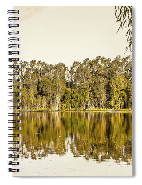 Reflective Rivers Spiral Notebook