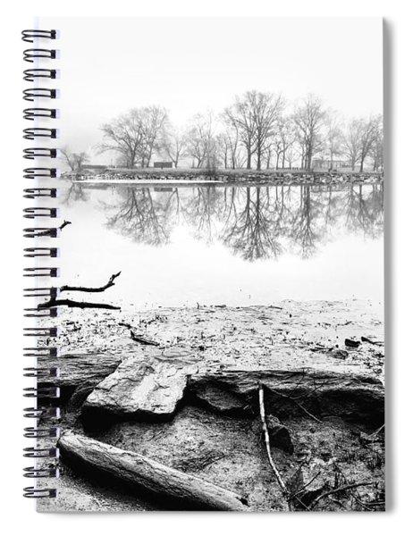 Reflective Spiral Notebook