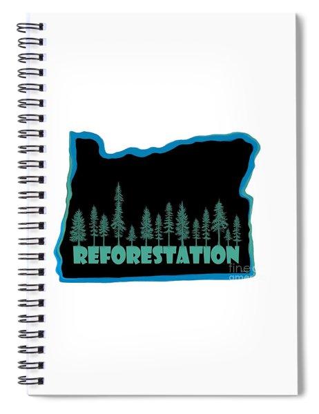 Reforestation Spiral Notebook