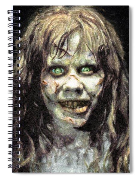 Regan Macneil Spiral Notebook