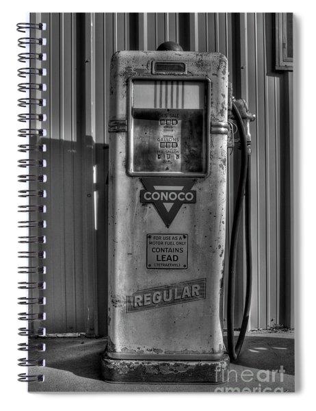 Regular Please - Bw Spiral Notebook