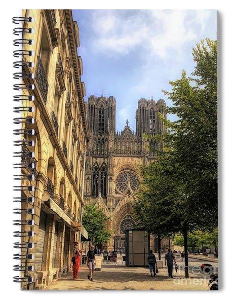 Reims France  Spiral Notebook