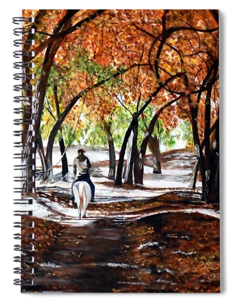 Reins Of Serenity Spiral Notebook