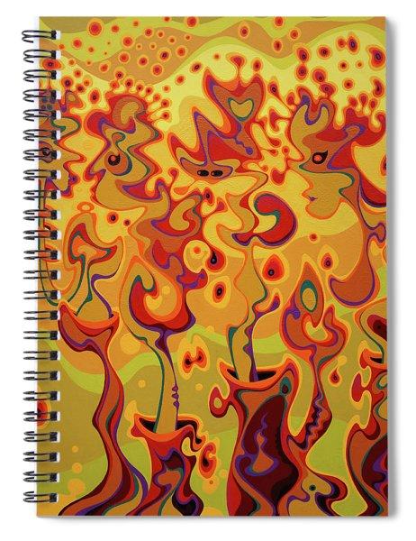 Releasing Longheld Greivances Into The Blinding Light Of Love Spiral Notebook