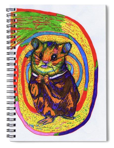 Religious Hamster Spiral Notebook