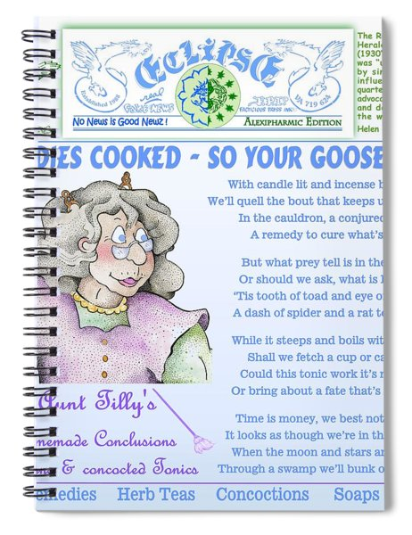 Remedies Cooked Spiral Notebook