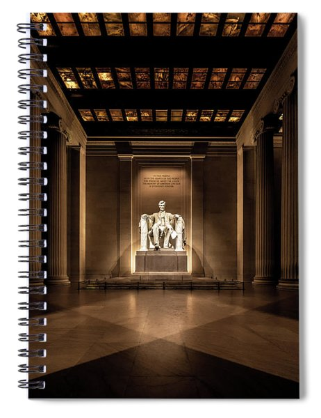 Remembering Mr. Lincoln Spiral Notebook