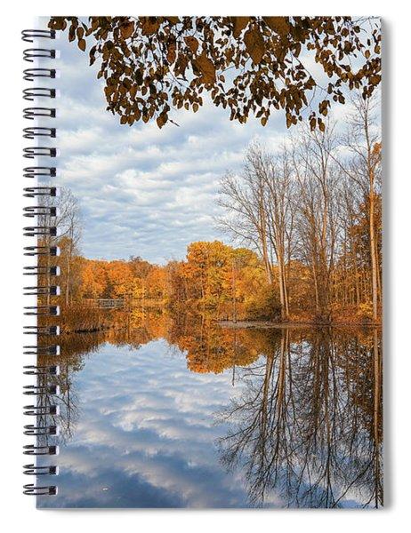 Remembering November Days Spiral Notebook