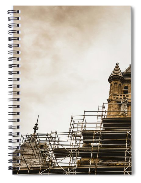 Remodeling The Past Spiral Notebook
