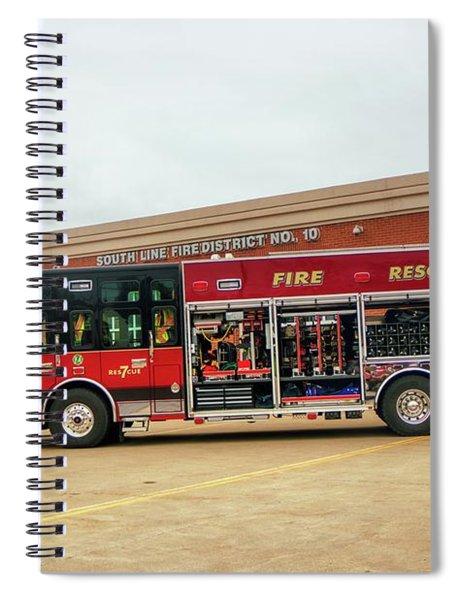Res7cue Spiral Notebook