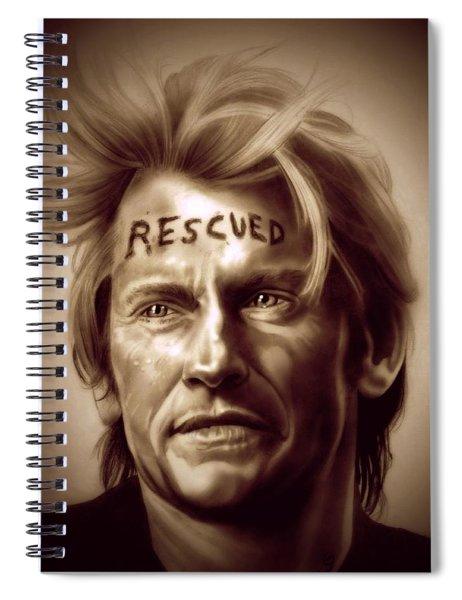 Rescue Me Spiral Notebook