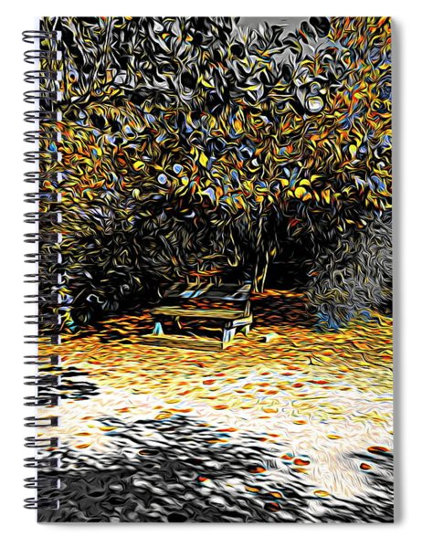 Resting Reflections Spiral Notebook