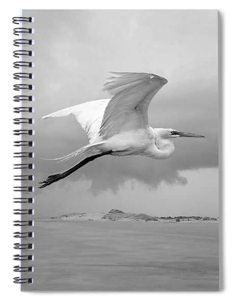 Retreat From Coming Storm Spiral Notebook