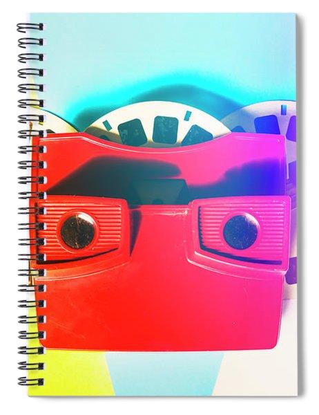 Retro Reel Spiral Notebook