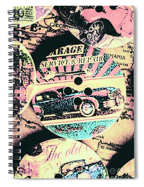 Retro Roadvival Spiral Notebook