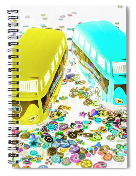 Retro Touring Spiral Notebook