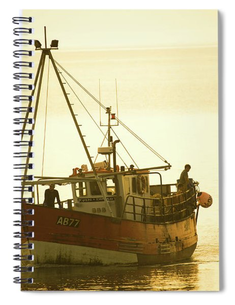 Returning To Harbour Spiral Notebook