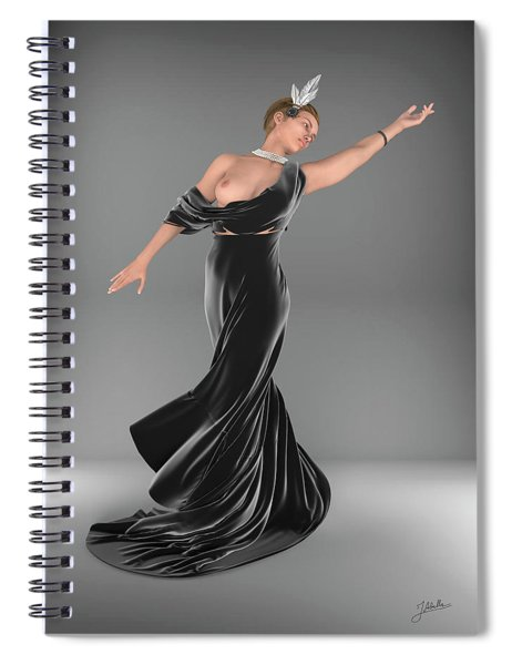 Revealing Fashion Spiral Notebook