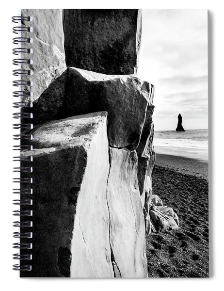 Reynisfjara Beach #1 Spiral Notebook