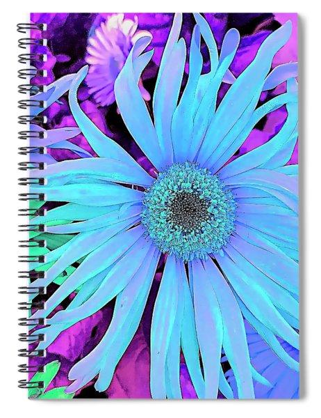 Rhapsody In Bleu Spiral Notebook