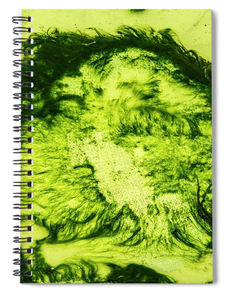 Rhapsody In Green Spiral Notebook