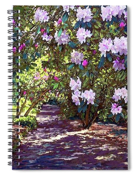 Rhododendron Garden Spiral Notebook