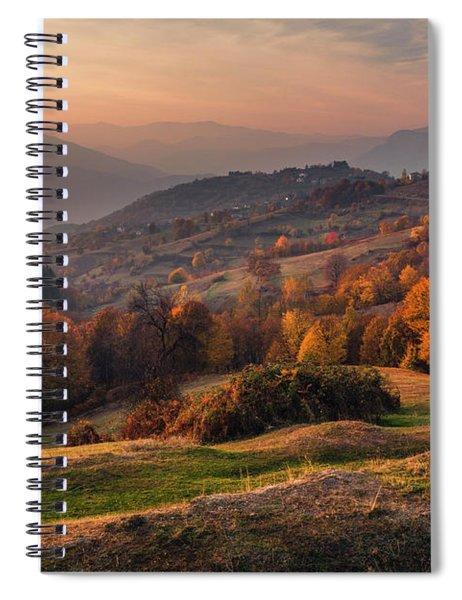 Rhodopean Landscape Spiral Notebook