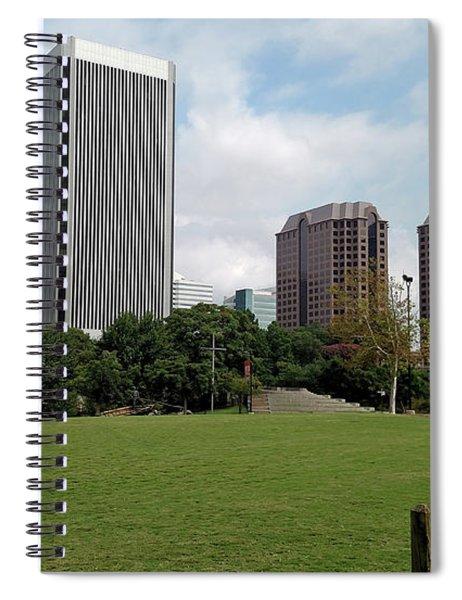 Richmond Cityscape Spiral Notebook