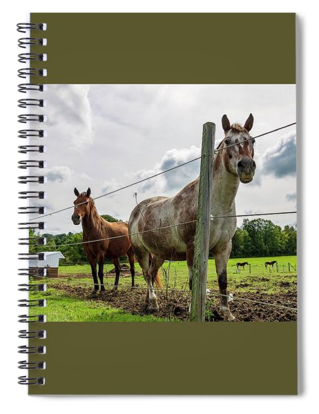 Ride Spiral Notebook