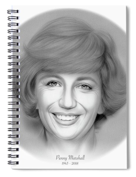 Rip Penny Marshall Spiral Notebook