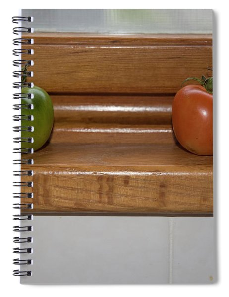 Ripening Tiny Tomatoes Spiral Notebook